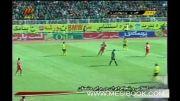 فجر سپاسی شیراز 1 - 1 پرسپولیس تهران / هفته 26