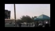 پیاده روی عدالتخواهی طلبه سیرجانی و همراهان از جمکران تا حرم حضرت عبدالعظیم(ع)