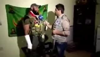 مصاحبه با ابو عزرائیل، کابوس تکفیری های داعش