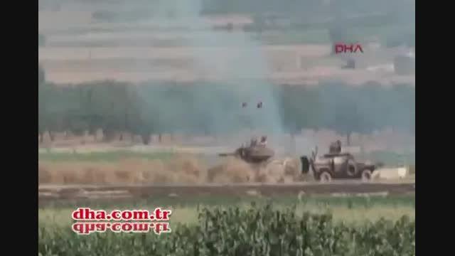 ورود ارتش ترکیه به خاک سوریه