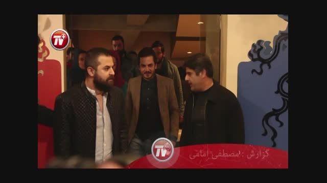گفتگو با عباس غزالی و هومن سیدی در حاشیه جشنواره فجر