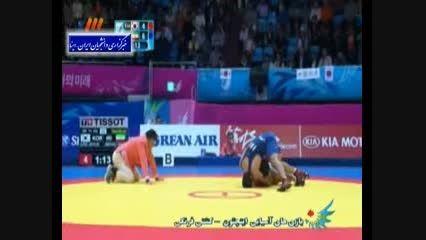 سعید عبدولی و ناداوری در مسابقات آسیایی۲۰۱۴ - میهن پست