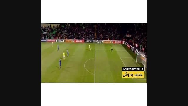 گل زیبای زلاتان در بازی دیشب مولداوی - سوئد