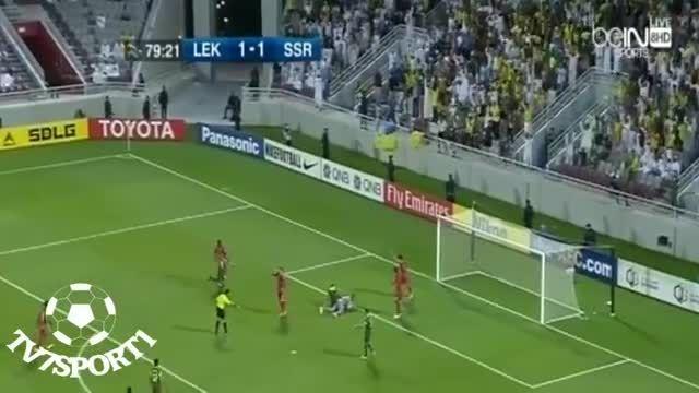 لخویا 1 - النصر 1 (بازی رقبای پرسپولیس در آسیا)