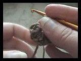 دارابکلا - ساری - آموزش کاموا بافی - بافتن گل شماره 4