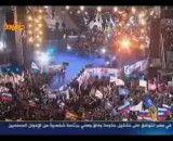 جشن و شادمانی طرفداران پوتین پس از پیروزی در انتخابات
