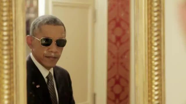دلقک بازی اوباما