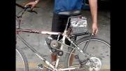 دوچرخه برقی  دست ساز