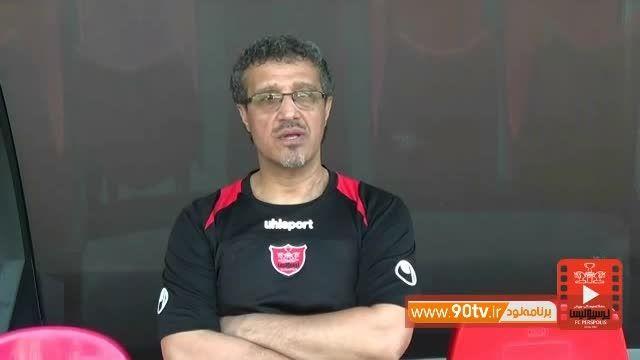 مصاحبه با قنبرپور،سوشامکانی،عالیشاه و طارمی قبل از بازی