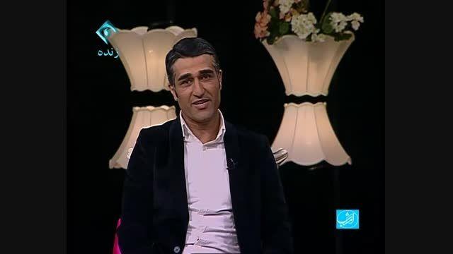 برنامه امشب با اجرای علی ضیا با حضور پژمان جمشیدی