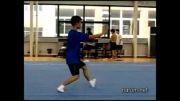 ووشو ، تمرین تیم ووشو شانگهای در تابستان سال 2005