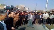 فیلم دستگیری مردی پس از درگیری با 5 پلیس در خیابان های تهران