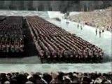 رژه نیروهای نازی درنورنبرگ المان(رنگی)