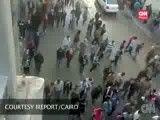 زیر گرفتن مردم مصر توسط خودروی نظامیان