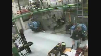 فیلم انفجار بویلر ( دیگ بخار موتورخانه تاسیسات )
