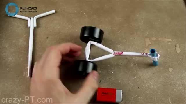 ساخت سه چرخه بسیار ساده با قابلیت حرکت