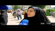 سوتی صداوسیما هنگام مصاحبه
