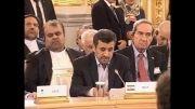 سخنرانی احمدی نژاد در اجلاس صادر کنندگان گاز در مسکو