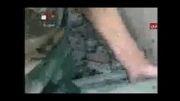 انبار بمب های۳۰۰ کیلویی داعش