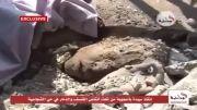 نجات یک بانوی فلسطینی از زیر آوار - غزه :(((((((