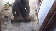 منفجر کردن تانک ارتش سوریه!!!