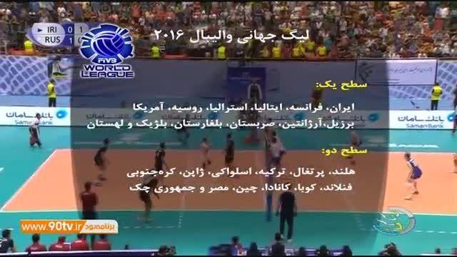 سبک جدید برگزاری لیگ جهانی والیبال ۲۰۱۶
