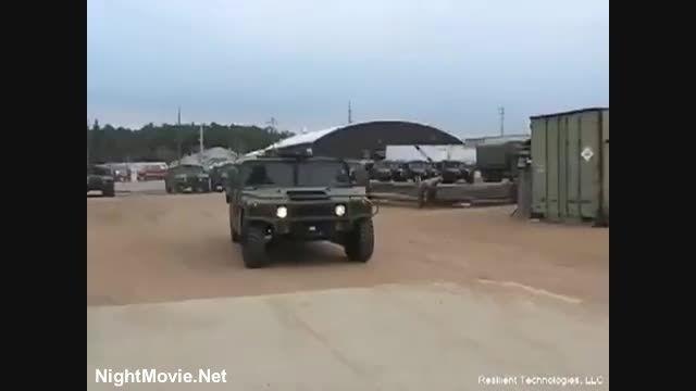 جدیدترین لاستیک های استفاده شده در خودروهای نظامی