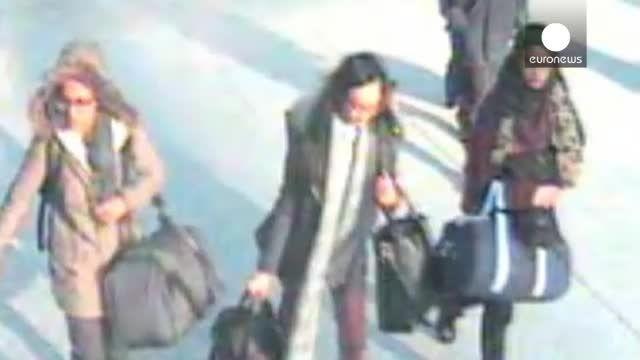 سه دختر انگلیسی از دست داعش فرار کردند!!!