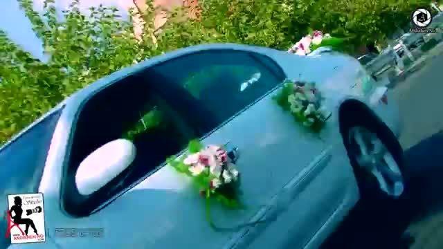 ویدئو کلیپ مسیر و ماشین سواری داماد در روز عروس