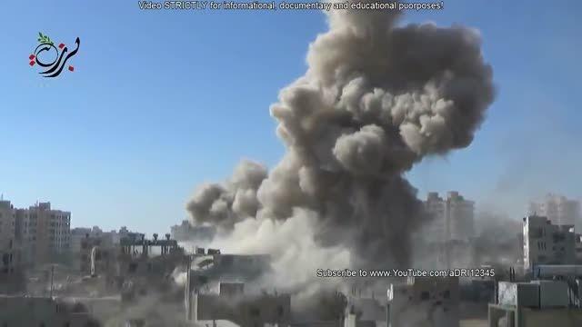 حملات ویرانگر جنگنده سوریه علیه تروریست - 14 دقیقه بمب
