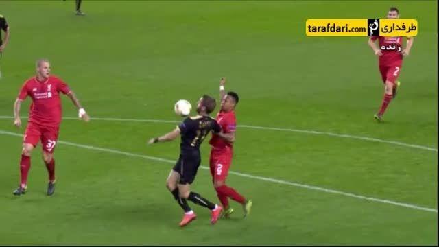 خلاصه بازی لیورپول 1-1 روبین کازان