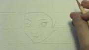کشیدن نقاشی السا