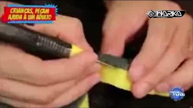 روشی ساده و جالب برای تمیز کردن تُنگ و ...