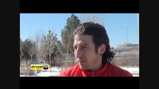 مصاحبه با بازیکنان تراکتورسازی پیش از سفر به ازبکستان