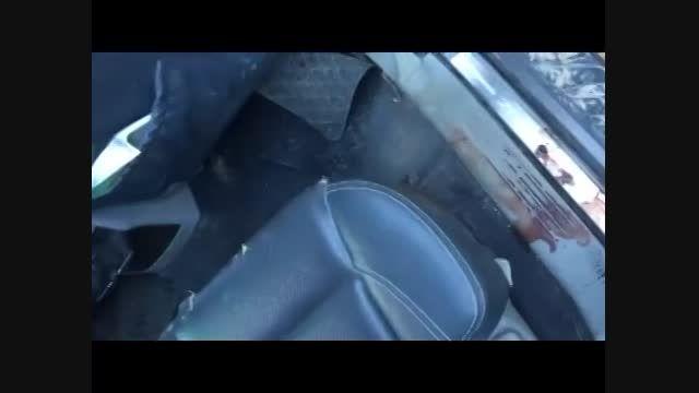 حمله به تیم خبری شبکه العالم در حومه ادلب