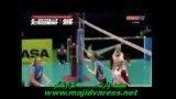 والیبال دختران ایران و نیوزلند