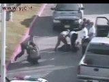 درگیری پلیس آمریکا با مجرم