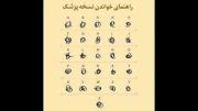 راهنمای خوانندن نسخه ی پزشک در ایران