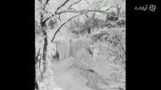 تصاویر زیبا از برف و پل های قدیمی