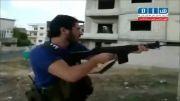 شهادت یک جوان رزمنده سوری توسط سلفی ها