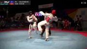 ضربه دولیو چاگی حریف کره ای به دانیال صالحی مهر - 2