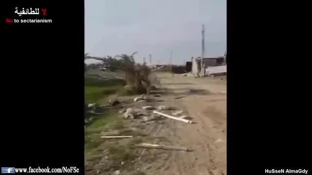 انهدام کارگاه ساخت گاز کلور داعش توسط ارتش عراق