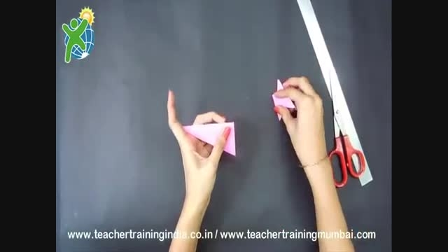 آموزش ساخت : جاشمعی کاغذی بسازید