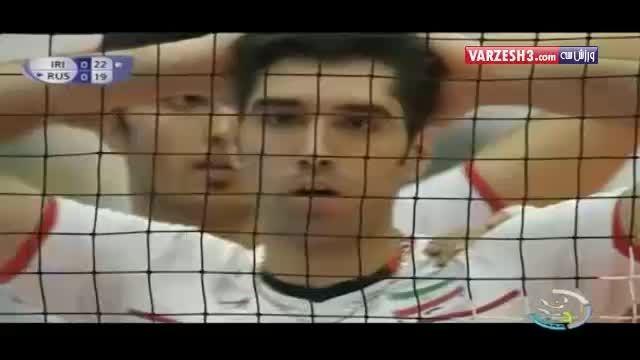 موسوی بهترین مدافع لیگ جهانی والیبال ۲۰۱۵