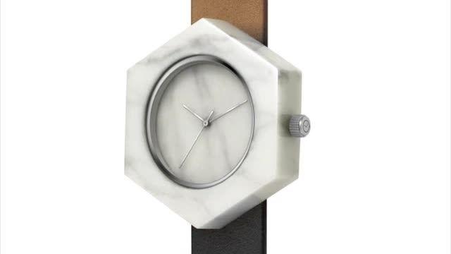 تماشا کنید، فیلم ساعتهای ساخته شده از سنگ مرمر