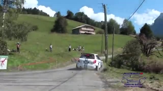 Rallye Mont-Blanc Morzine 2014 +embarquée Porsche