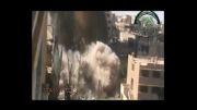 انفجار منازل مسکونی توسط تروریستها در سوریه!...