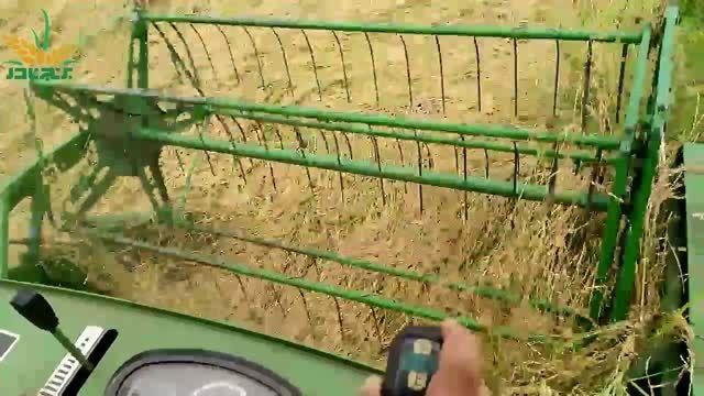 """برداشت مکانیزه برنج مرغوب گیلان توسط گروه """"برنج نادر"""""""