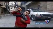 تفنگدار 8 ساله در استخدام تروریست