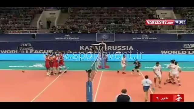حواشی بازی ایران-روسیه